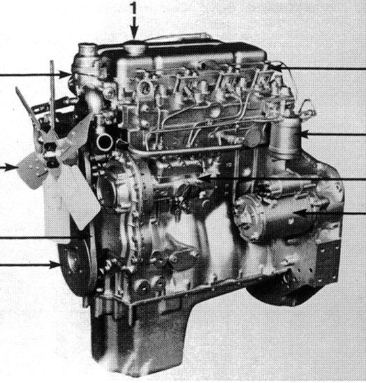 4.2482, 4.248, T4.236, 4.236, 4.212, T4.38 Engine