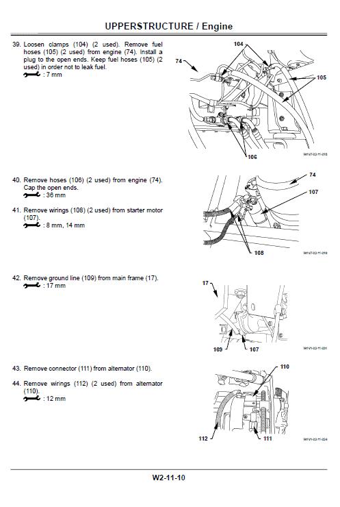 Hitachi Zx330-3, Zx330lc-3 Excavator Service Manual