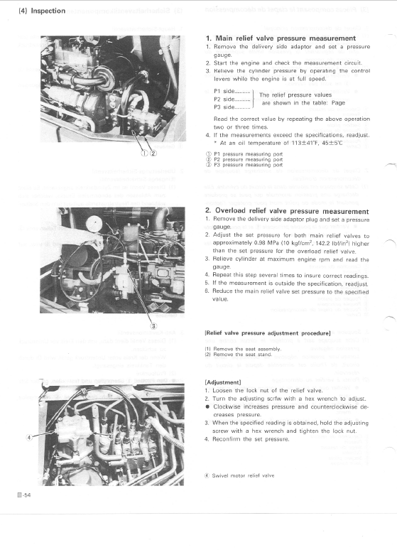 Kubota Kh66, Kh91, Kh101, Kh105 Excavator Workshop Manual