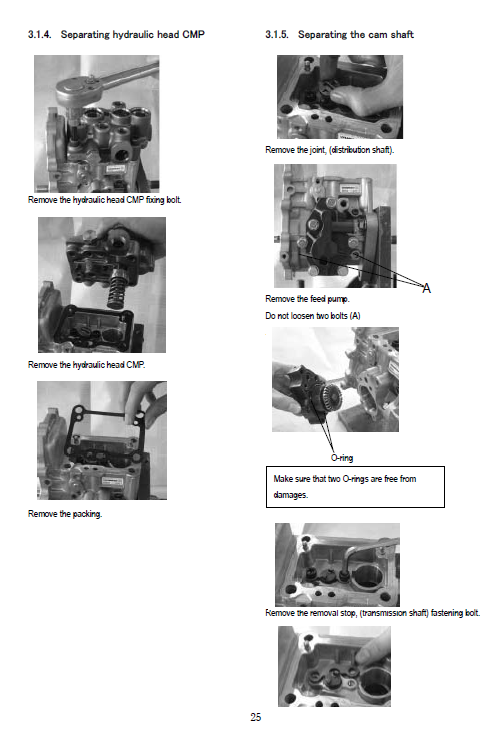 Komatsu 3d82ae, 3d84e, 3d88e Series Engine Manual