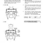 Komatsu D355-a1 Dozer Service Manual