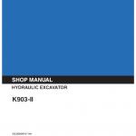 Kobelco K903-ii Excavator Service Manual