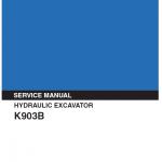 Kobelco K903b Excavator Service Manual