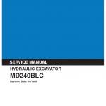 Kobelco Md240blc Excavator Service Manual