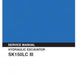 Kobelco Sk150lc-iii Excavator Service Manual