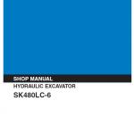 Kobelco Sk480lc-6 Excavator Service Manual