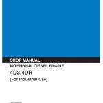 Mitsubishi 4d30, 4d31, 4d32, 4dr5, 6dr5 Engine Service Manual