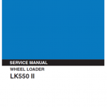 Kobelco Lk550 Ii Wheel Loader Service Manual