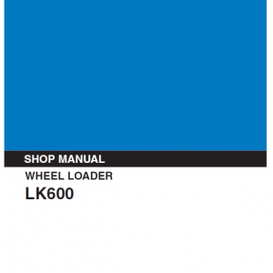 Kobelco Lk600 Wheel Loader Service Manual