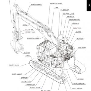 Kobelco 260srlc-3 Excavator Service Manual