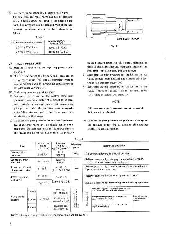 Kobelco K904e And K905a Excavator Service Manual