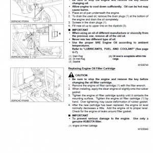Kubota F2880, F2880e, F3680 Front Mower Workshop Manual