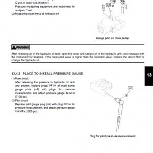 Kobelco Sk80cs-2 Acera Excavator Service Manual