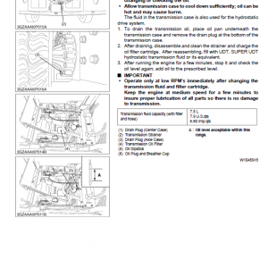 Kubota Zd221 Mower Workshop Service Manual
