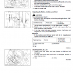 Kubota Zd321, Zd323, Zd326, Zd331 Mower Workshop Service Manual