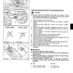Kubota L2900, L3300, L3600, L4200 Tractor Workshop Manual