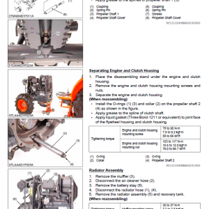 Kubota L3240-3, L3540-3, L3940-3, L4240-3 Tractor Workshop Manual