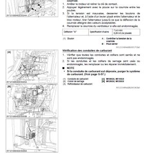Kubota M100gx, M110gx, M126gx, M135gx Tractor Workshop Manual