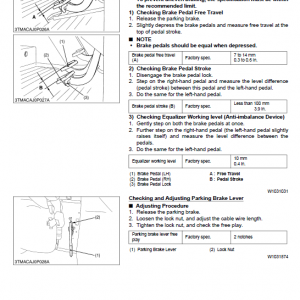 Kubota M95x, M105x, M125x Tractor Workshop Service Manual