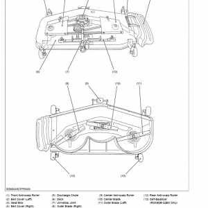 Kubota Rck48-15bx, Rc48-15bx, Rck54-15bx, Rck54-22bx Mower Manual