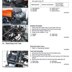Kubota Rtv900 Utility Vehicle Workshop Service Manual