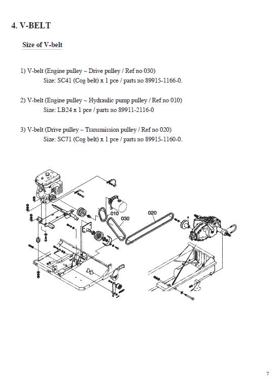 Kubota Kc70 Dumper Workshop Manual