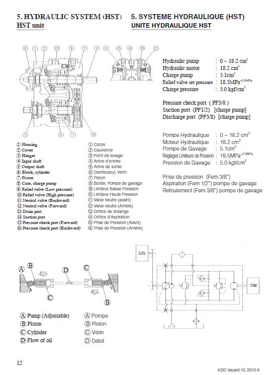 Kubota Kc120hc Dumper Workshop Manual