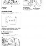 Kubota Bx1880, Bx2380, Bx2680 Tractor Loader Workshop Manual