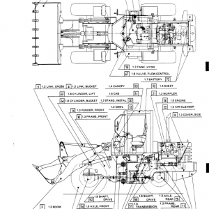 Kobelco Lk350 Ii Wheel Loader Service Manual