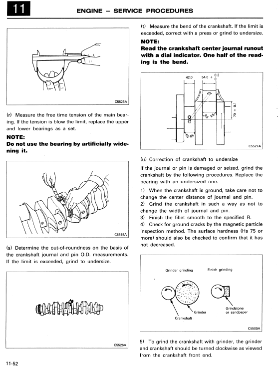 Mitsubishi 6d22, 6d22-t, 6d22-tc Engine Workshop Service Manual