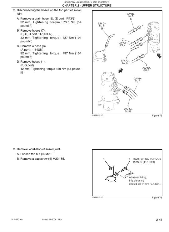 Kobelco 80cs Acera Tier 4 Excavator Service Manual