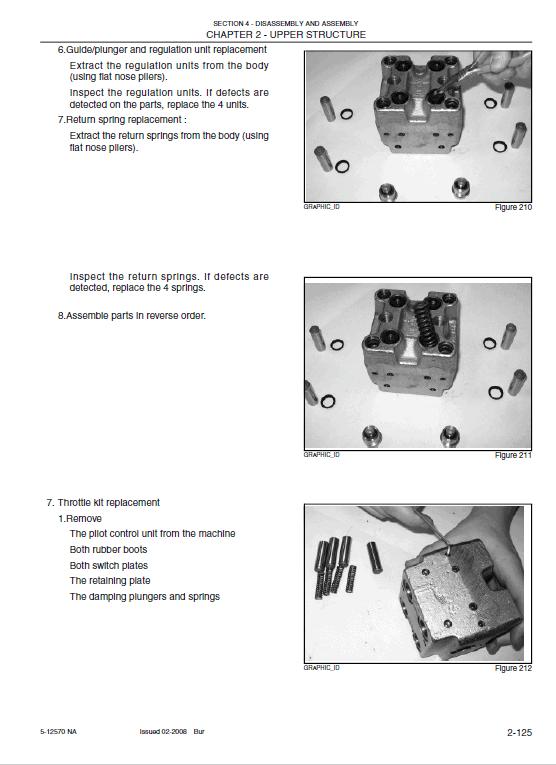 Kobelco 215sr Acera Tier 3 Excavator Service Manual