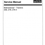 Ford Versatile 256, 276, 276ii Tractor Service Manual