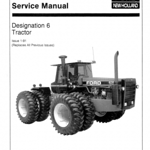 Ford Versatile 936, 956, 976 Tractor Service Manual