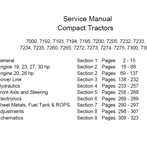 Cub Cadet Series 7000 Service Manual