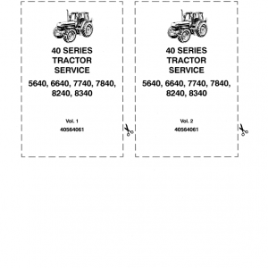Ford 7840, 8240, 8340 Tractor Service Manual