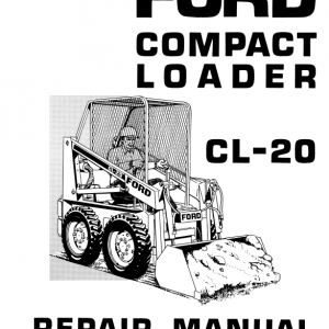 Ford Cl-20 Compact Loader Service Manual