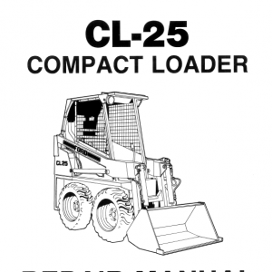 Ford Cl-25 Compact Loader Service Manual