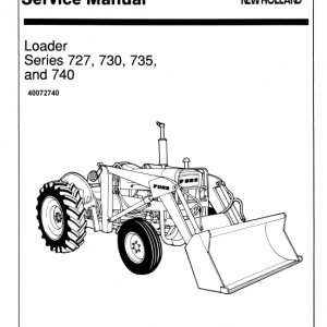 Ford 727, 730, 735 And 740 Loader Service Manual