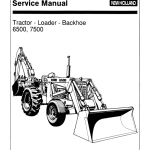 Ford 6500, 7000 Backhoe Loader Service Manual