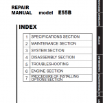 New Holland E55b Tier 4 Crawler Excavator Service Manual