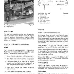 Ford Versatile 1156 Tractor Service Manual