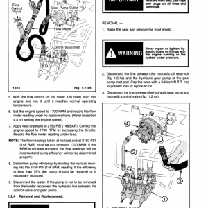 Ford Cl-35, Cl-45 Compact Loader Service Manual