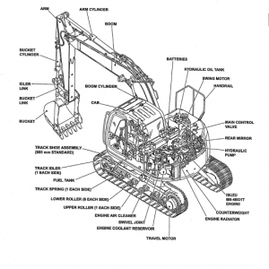 New Holland Eh130 Crawler Excavator Service Manual