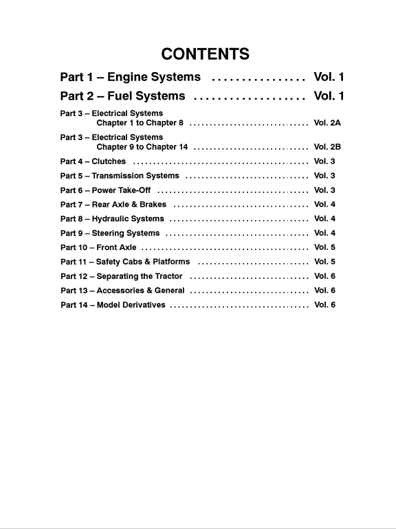 Ford 3600, 3230, 3610, 3430, 3910, 3930 Tractor Service Manual