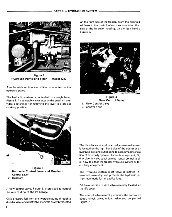 Ford 1110 And 1210 Tractor Service Manual