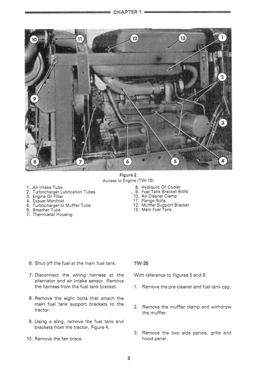 Ford 2600, 2610, 2810 Tractor Service ManualThe Repair Manual