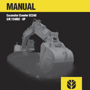 New Holland Ec240 Crawler Excavator Service Manual