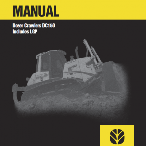 New Holland Dc150 Crawler Dozer Service Manual