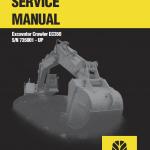 New Holland Ec350 Crawler Excavator Service Manual